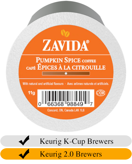 Zavida Pumpkin Spice Coffee Cups (24)