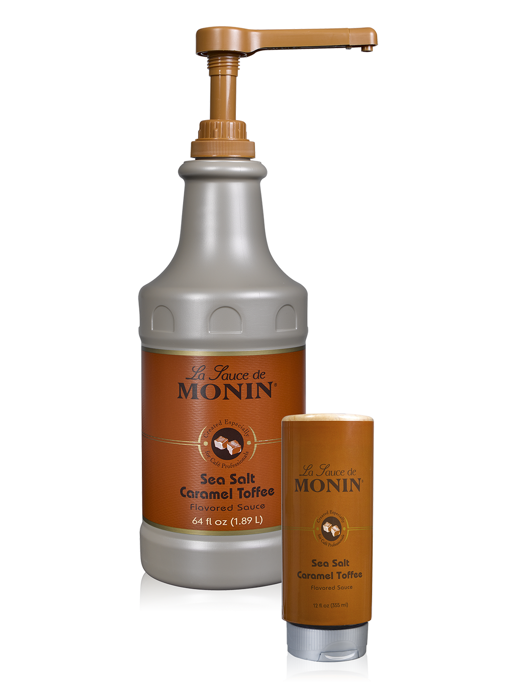 Monin Sea Salt Caramel Toffee Gourmet Sauce