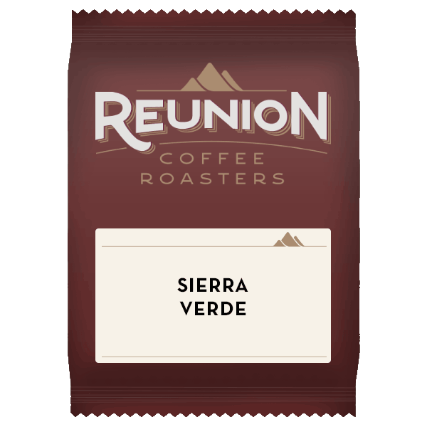 Reunion Coffee Roasters Sierra Verde Coffee (2.5oz)