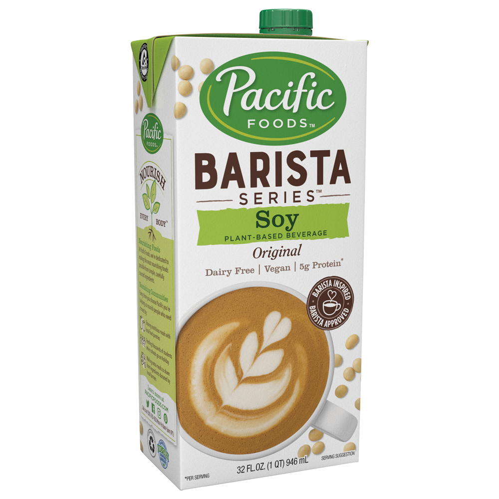 Pacific Foods Barista Series Soy Beverage (946ml)