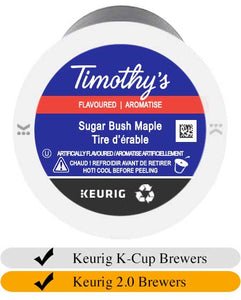 Timothy's Sugar Bush Maple K-Cup® Pods (24)