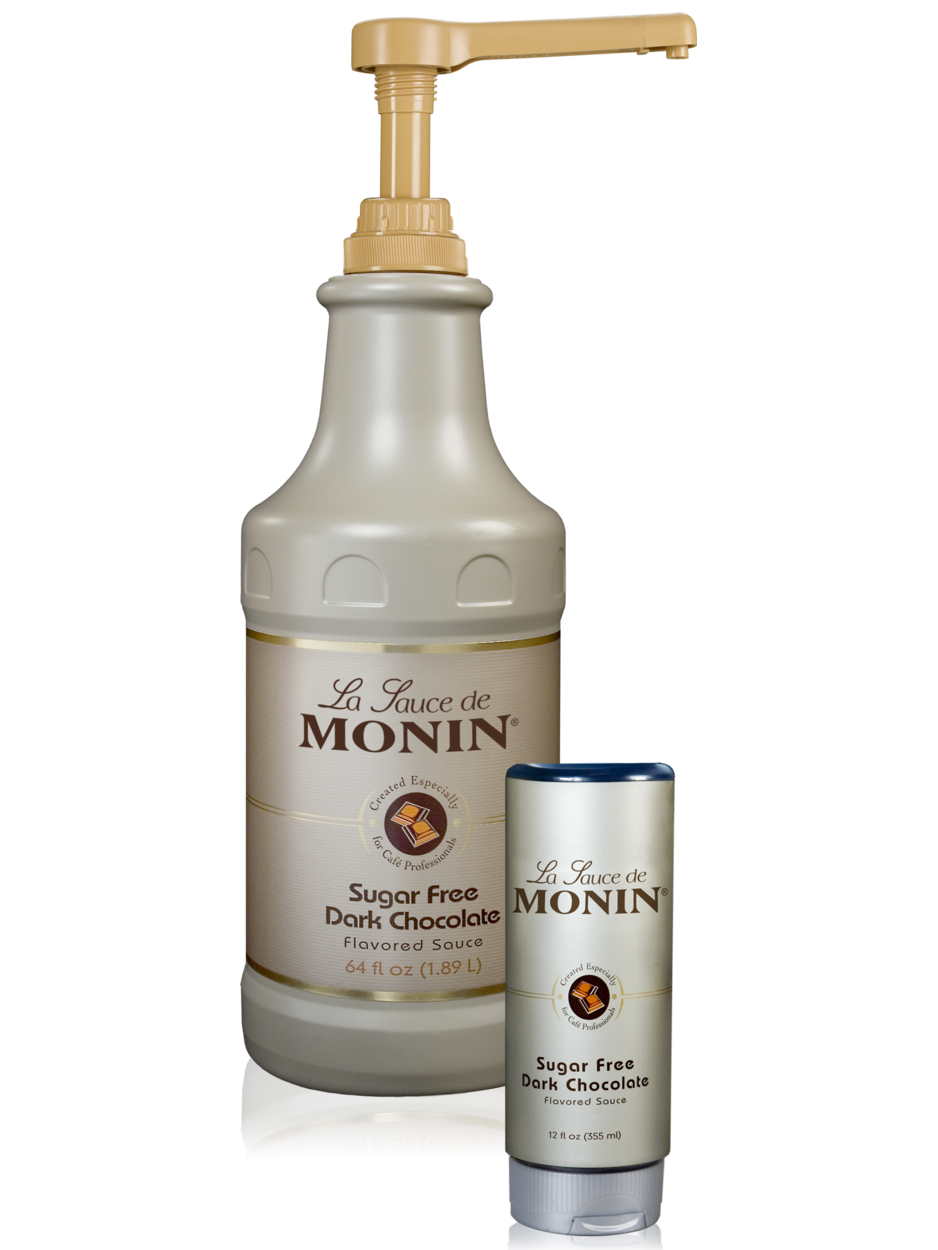 Monin Sugar Free Dark Chocolate Gourmet Sauce