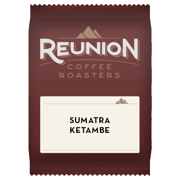 Reunion Coffee Roasters Sumatra Ketambe Coffee (2.5oz)
