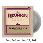 Reunion Coffee Sunday Morning (16) - 100% Compostable Pods SALE