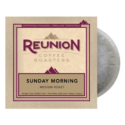 Reunion Coffee Sunday Morning (16) - 100% Compostable Pods