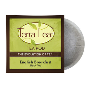 Terra Leaf English Breakfast 18 Tea Pods | Beanwise