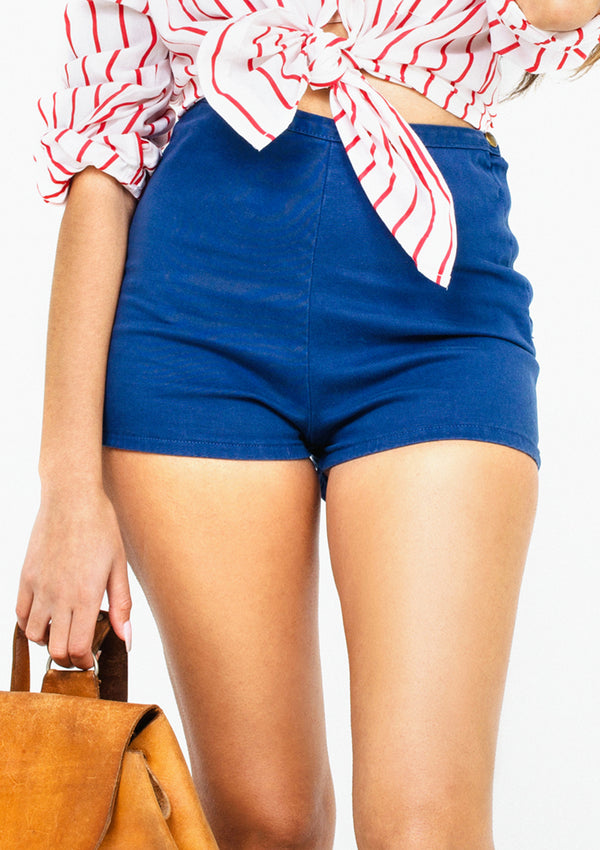 Blue Tap Shorts