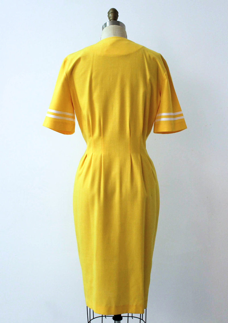 Yellow Sailor Dress