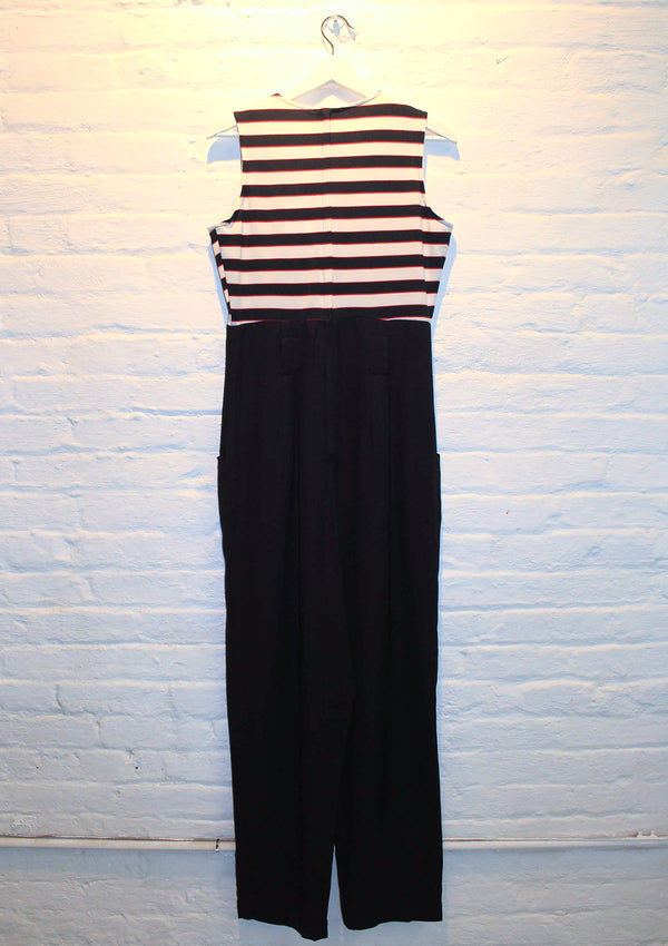 Nautical Striped Jumpsuit