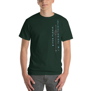 Elucidator (Explicit Text) Sword Art Online Inspired Classic Fit Short-Sleeve T-Shirt - Light Novel Shirts