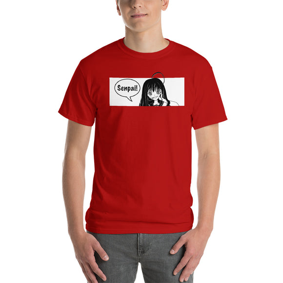Senpai! Yandere Girl Short-Sleeve T-Shirt