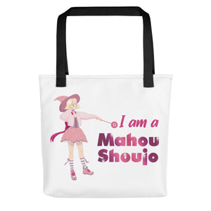 Pink Magical Girl Cute Sorceress Tote bag - Light Novel Shirts