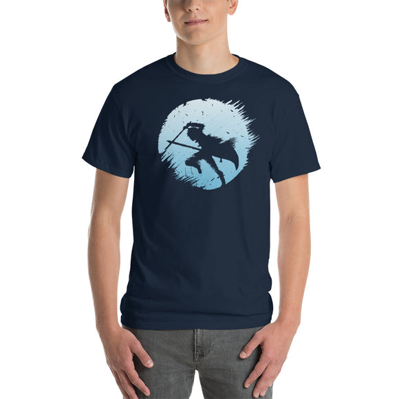 Kirito Circular Silhouette Classic Fit Short-Sleeve T-Shirt - Light Novel Shirts