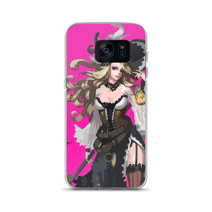 Elegant Sorceress Mahou Shoujo Samsung Case - Light Novel Shirts