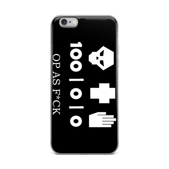 All Kills, No Heals, No Revives, OP as F*CK! iPhone Case - Light Novel Shirts