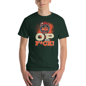Sinister Devil OP as F*CK! Classic Fit Short-Sleeve T-Shirt - Light Novel Shirts