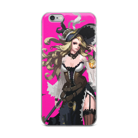 Elegant Sorceress Mahou Shoujo iPhone Case - Light Novel Shirts