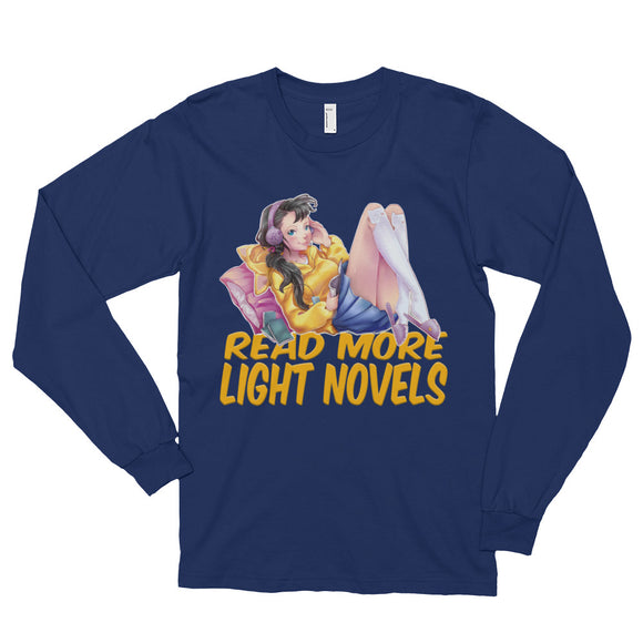 Read More Light Novels - Shiori Long sleeve t-shirt (unisex)