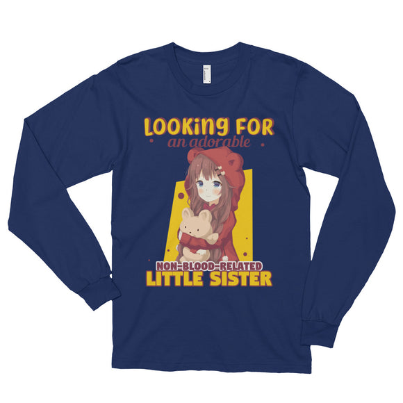 Looking for a Little Sister Long sleeve t-shirt (unisex)