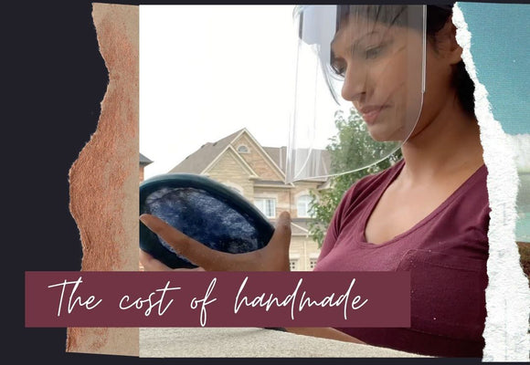 The cost of handmade...