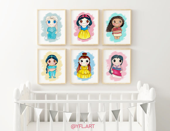 Princess Art Prints