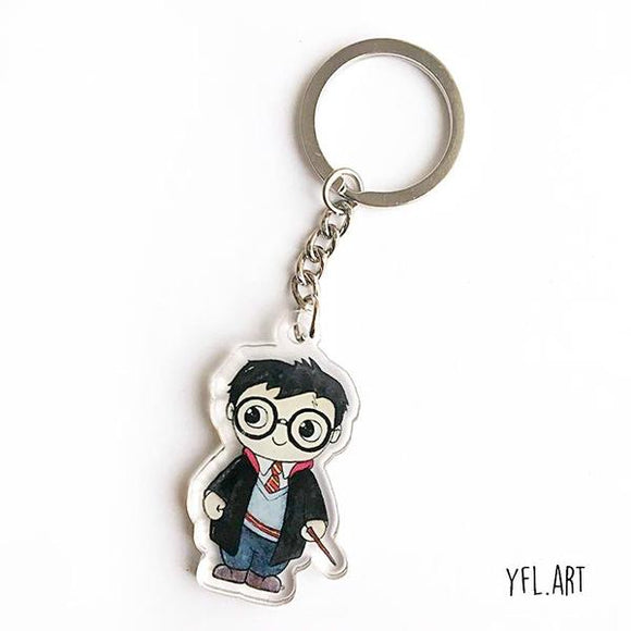Harry Potter Keychains
