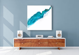 Fluid resin Art Painting Interior design Contemporary art