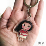 Moana Charms Keychain - Double sided Keychain