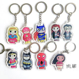 Harry Potter Keychain - Double sided key ring