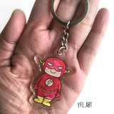 Flash keychain key charm key fob