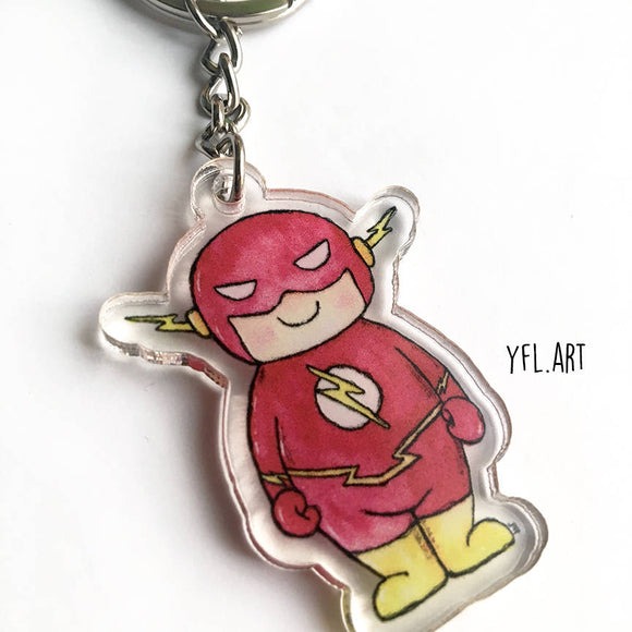 Flash keychain