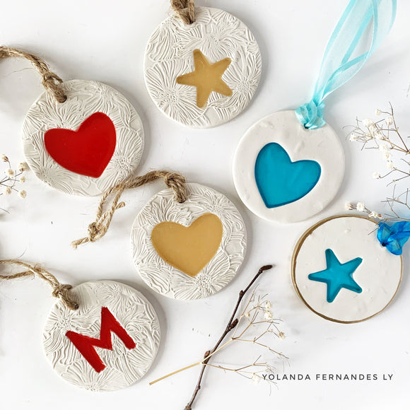 Christmas Ornaments  - Clay & Resin