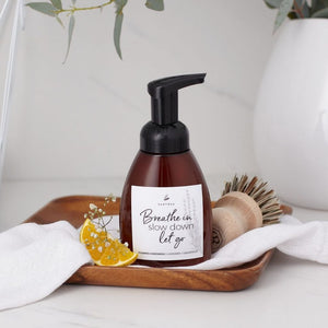 Lavender + Grapefruit Natural Foaming Handwash by Santosa