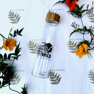 Glass Bottle by WildCrate