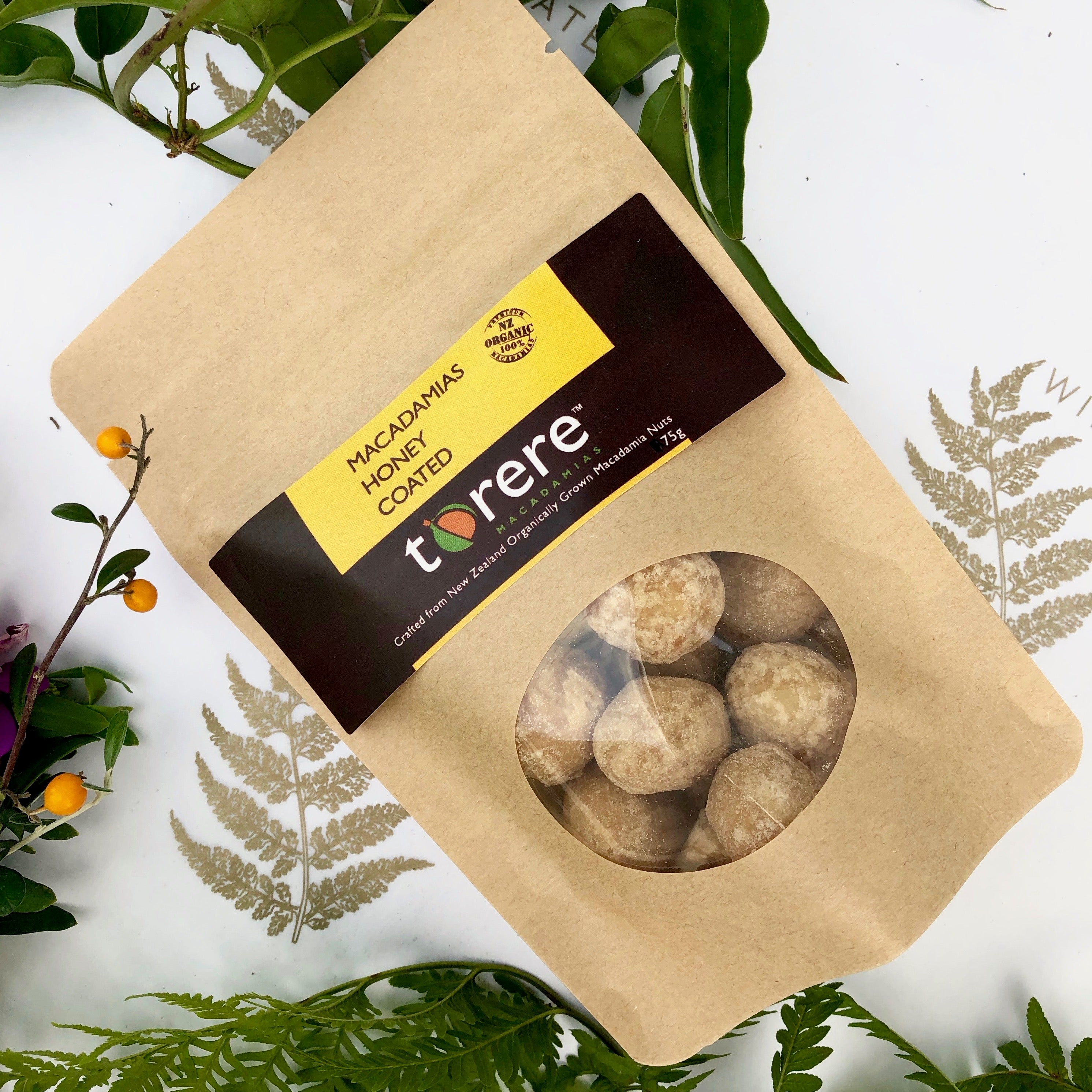 Honey Roasted Macadamia Nuts by Torere Macadamias