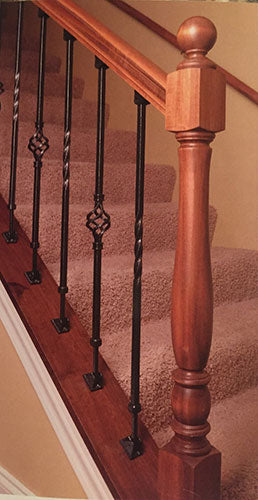 old iron sides adjustable iron balusters
