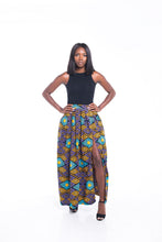 Load image into Gallery viewer, Adorn Ankara Print Maxi SKirt