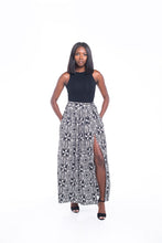 Load image into Gallery viewer, Aztec Ankara Print Maxi SKirt
