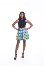 Load image into Gallery viewer, Dream Ankara Print Mini skirt