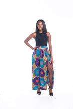 Load image into Gallery viewer, Lola Ankara Print Maxi SKirt