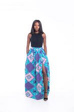 Load image into Gallery viewer, Lolita Ankara Print Maxi SKirt