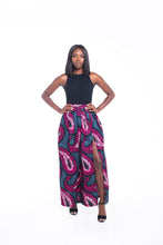 Load image into Gallery viewer, Mystic Ankara Print Maxi SKirt