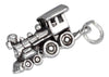 Sterling Silver Three Dimensional Choo-choo Train Charm