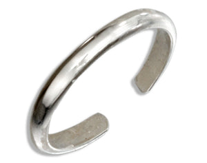 Sterling Silver 1.5mm Plain Band Ear Cuff