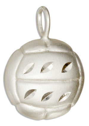 Sterling Silver Volleyball Pendant