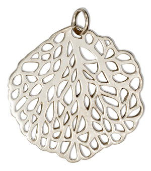 Sterling Silver Sea Fan Charm