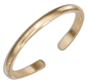 12 Karat Gold Filled 1.5mm Plain Band Toe Ring
