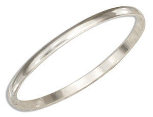 Sterling Silver 1mm Wedding Band Ring