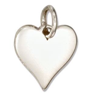 Sterling Silver High Polish Heart Charm