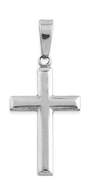 Sterling Silver Small Cross Pendant